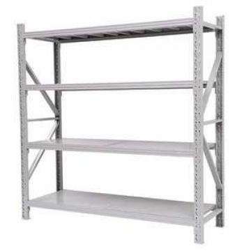 4 layer strong capacity warehouse pallet light weight steel angle iron storage rack for steel pipe
