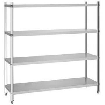 Multi Layer Commercial Plastic Coated Shelving Wire Mesh Storage Shelves