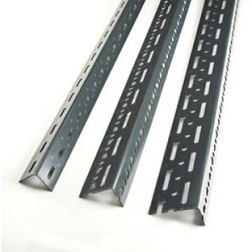 Grey Color Dexion Design Power Coated Steel Slotted Angle