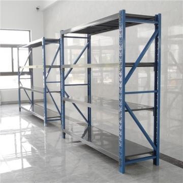 Steel Structure Warehouse Adjustable Sotted Angle Shelving
